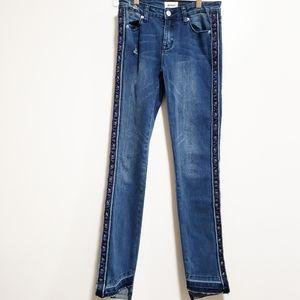 HUDSON Girl Stars Blue Jeans